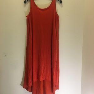 Eileen Fisher High Low Silk Blend Sundress  XS